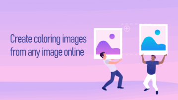 Create Colouring images from Pictures Online