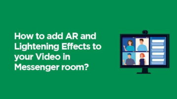 Add AR and lightening in the Messenger Room