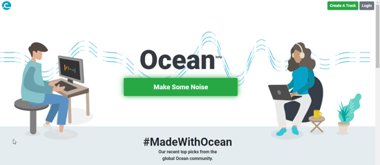 Make your music with Ocean