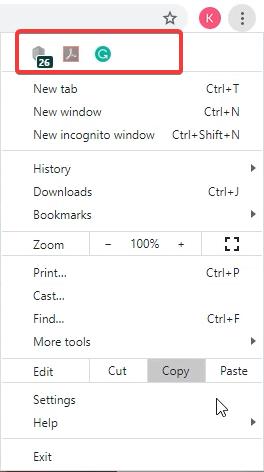 Hidden Chrome Extension