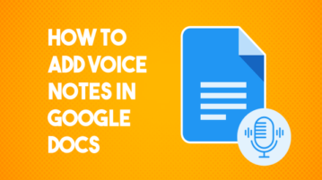How to Add Voice Notes with Transcript to Google Docs?