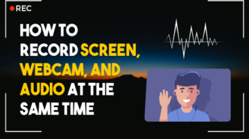 How to Record Screen, Audio, Webcam at same time Online without Installing
