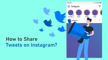 Share your Tweets on Instagram