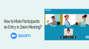 Mute participants in Zoom Meeting