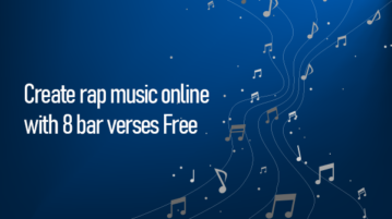 Create rap music online with 8 bar verses Free