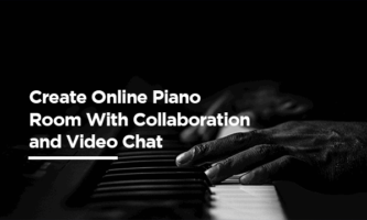 Create Online Piano Room With Collaboration and Video Chat