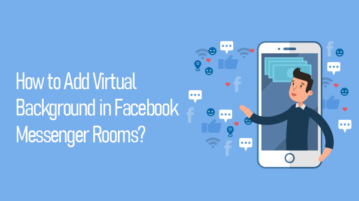Add virtual backgrounds to Messenger Room