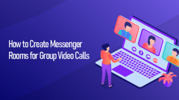 Create Messenger Rooms for Group Video Calls