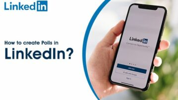 Create polls with LinkedIn