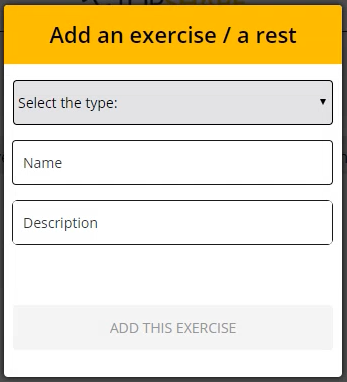 Add the Exercises