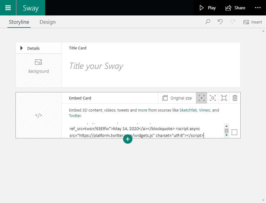 add content in sway