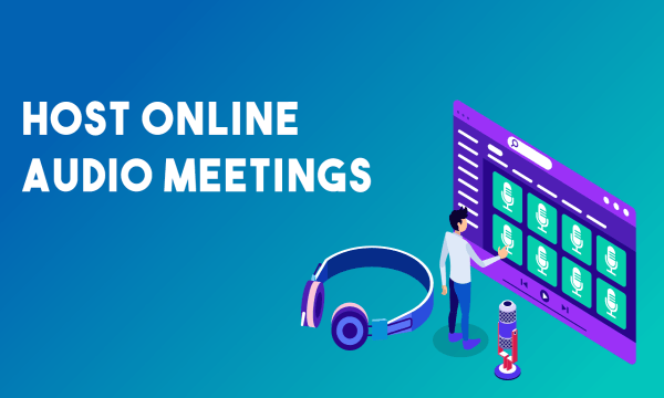 Host Online Audio Meetings for Free, No Signup