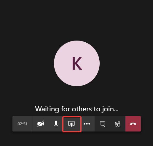 Start Screen Sharing