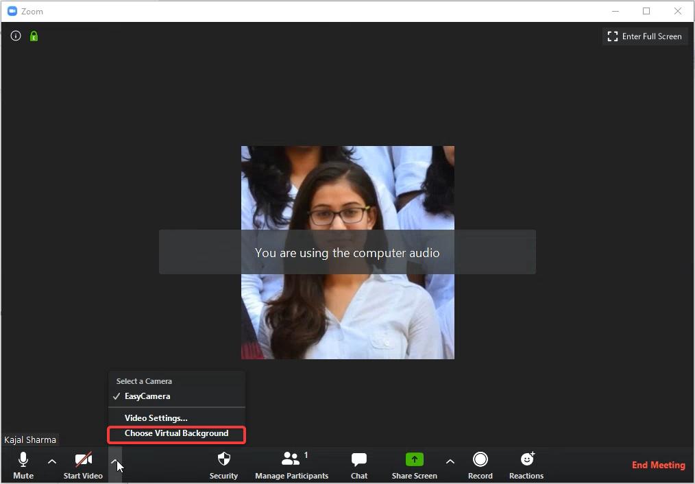 Add Background to Zoom- Zoom Background Builder
