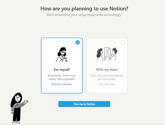 notion personal for free