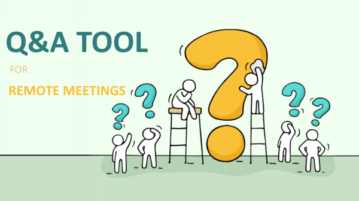 Free Live Q&A Tool for Remote Meetings: Just Ask