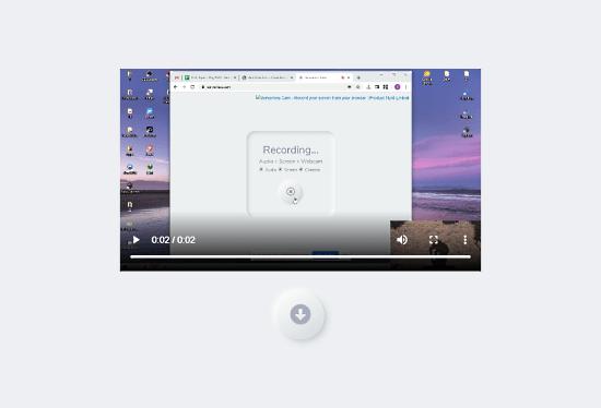 screen webcam audio recoder