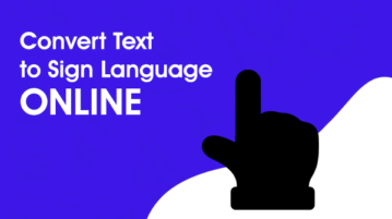 Convert Text to Sign Language Online