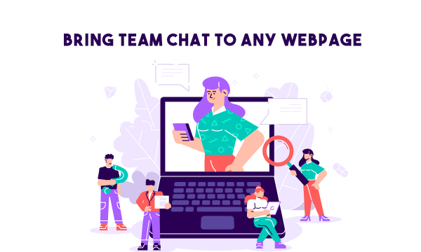 Team Chat on any Webpage to Discuss Issues, Feedback: Inverse