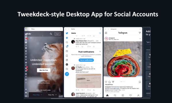 Free Tweetdeck Alternative for All Social Media Accounts: Stack
