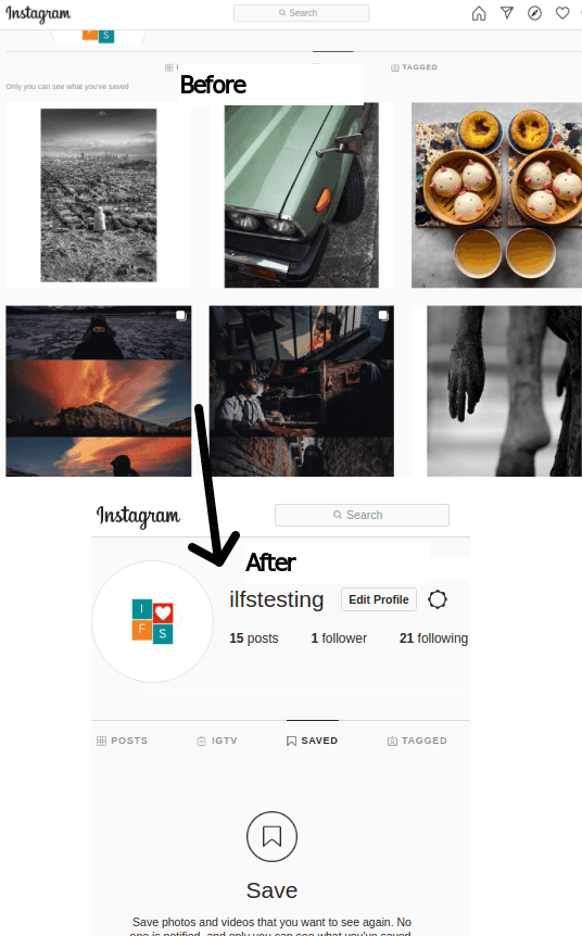unsave all instagram saved posts