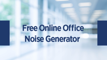 Free Online Office Noise Generator