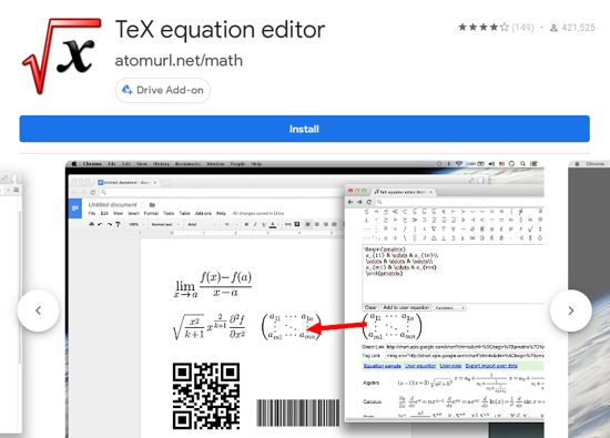 TeX Equation Editor