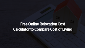 Free Online Relocation Cost Calculator to Compare Cost of Living