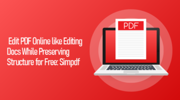 Free online PDF editor without mess
