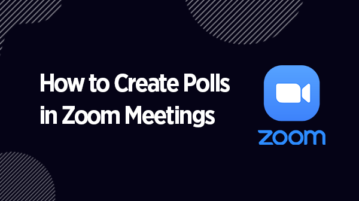 Create Polls in Zoom Meetings