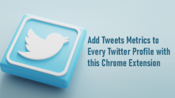 Add Tweets Metrics to Every Twitter Profile