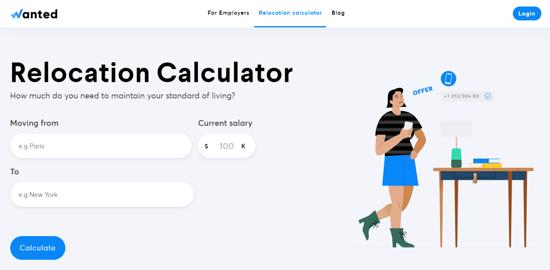 Relocation Cost Calculator