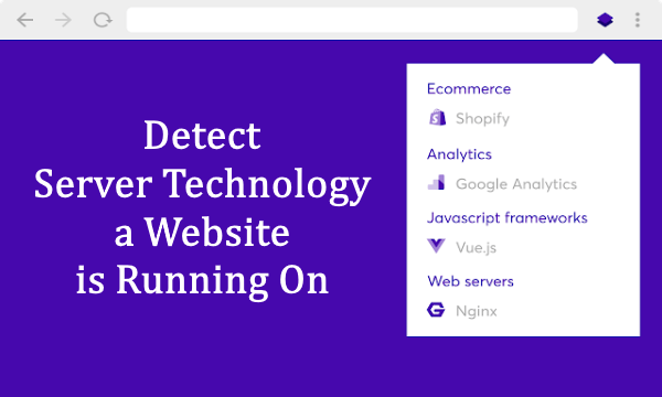 Detect Server Technology a Website is Running On with this Chrome Extension
