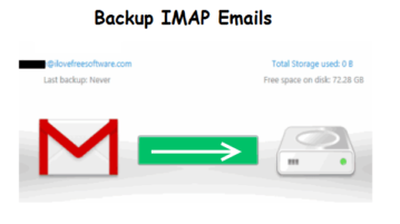 imap emails backup software