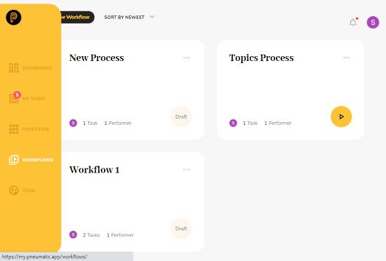 kanban style workflow management tool