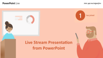 How to Live Stream Presentation from PowerPoint