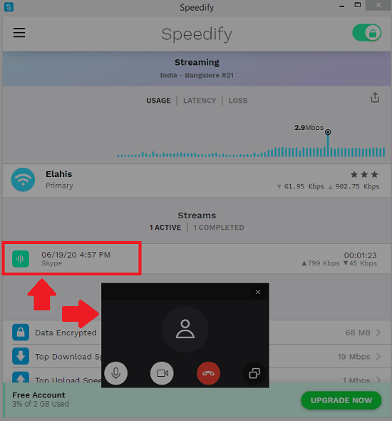 speedify optimizing traffic
