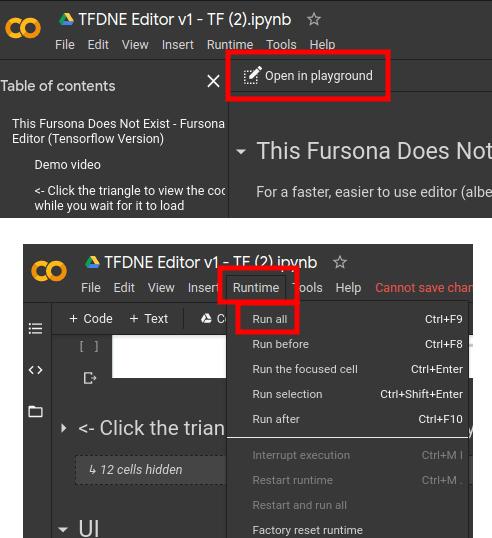 tfde fursona editor open