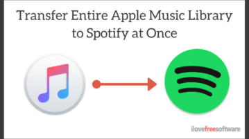 Transfer Your Entire Apple Music Library to Spotify at Once