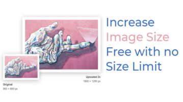 Upscale by Sticker Mule: Increase Image Resolution Free with no Size Limit