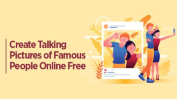 Create Talking Pictures of Famous People Online Free