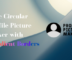 Free Circular Profile Picture Maker with Gradient Borders
