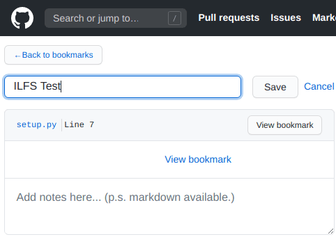 Bookmark Code Snippets on GitHub in 1 Click with this Chrome Extension