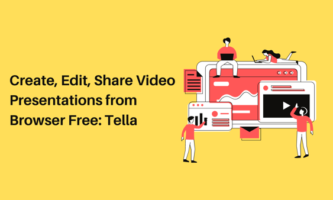 Create, Edit, Share Video Presentations from Browser Free: Tella