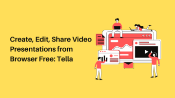 Create, Edit, Share Video Presentations from Browser Free_ Tella
