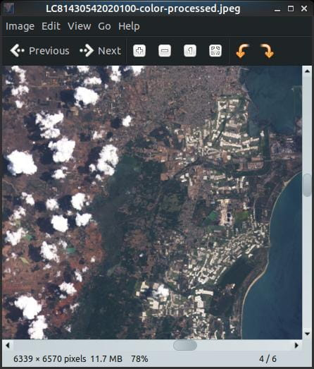 Download High Res Satellite Earth Images from Terminal