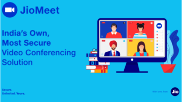 How to use JioMeet App to Host Meetings with 100 Participants, Screen Sharing
