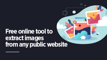 Free online tool to extract images from any public website