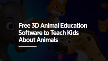 Free 3D Animal Education Software to Teach Kids About Animals