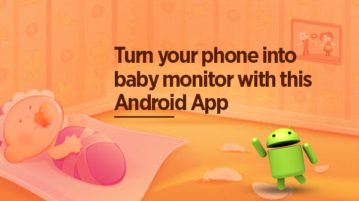 Turn your phone into baby monitor with this free application